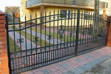 Wrought Iron and Steel Gates