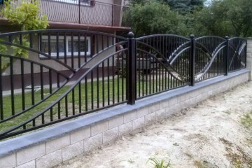 Metal Fence Modern Design Metal Fence Design