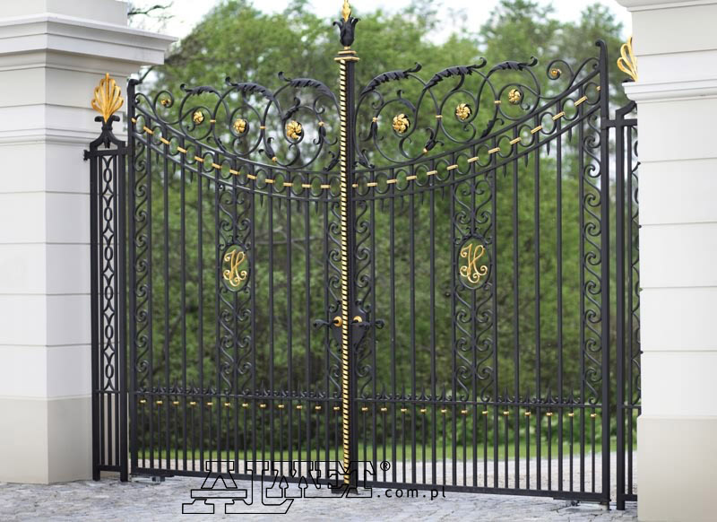 Iron Wrought Gate